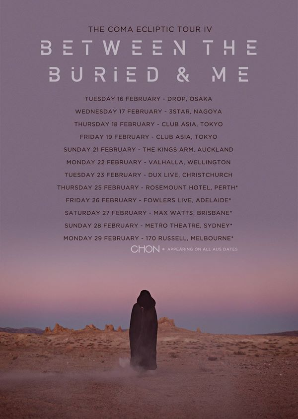 Between the Buried and Me - Tour
