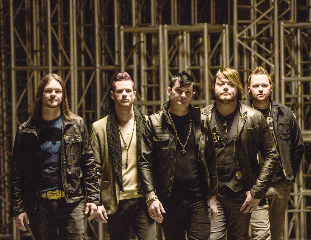 Hinder Announces U.S. Tour Dates with Saving Abel, Saint Asonia + More