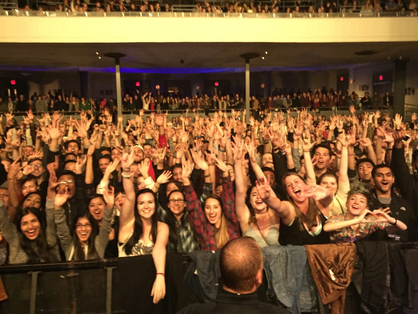 Sold out show in Montclair, NJ