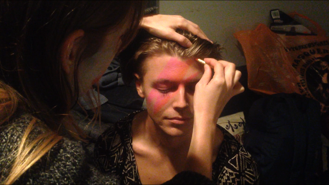 Casey becoming Bowie
