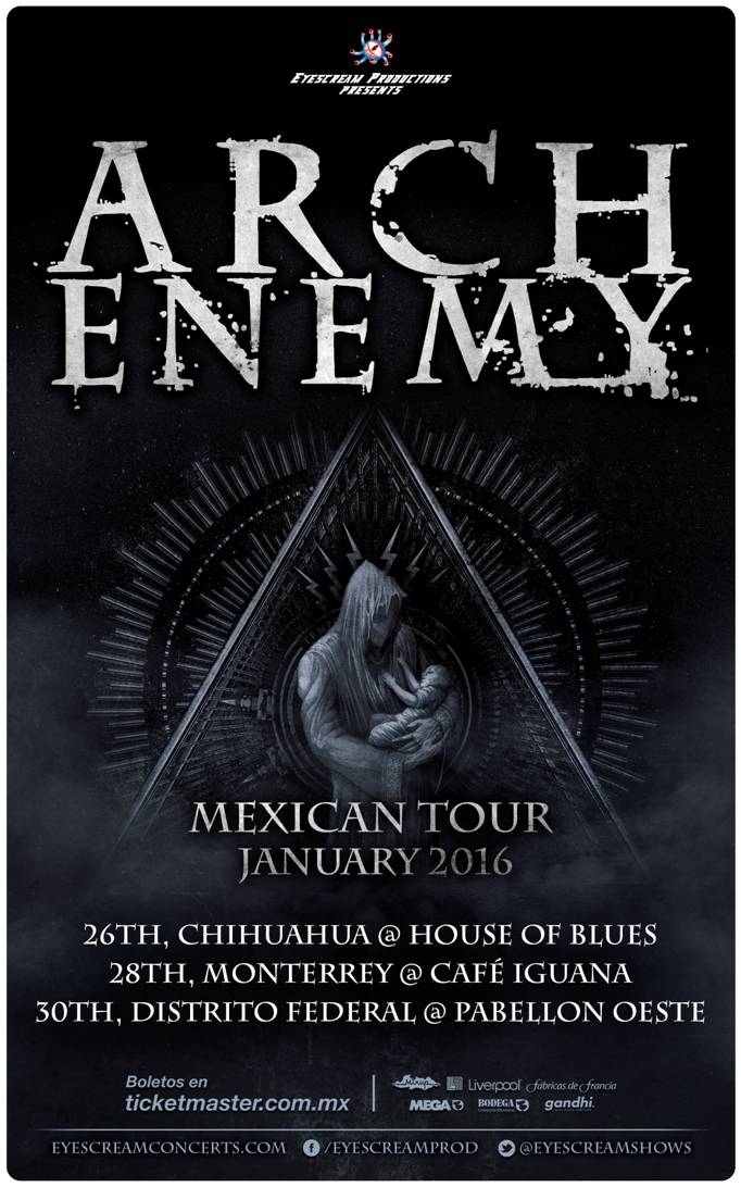 Arch Enemy - Mexican Tour