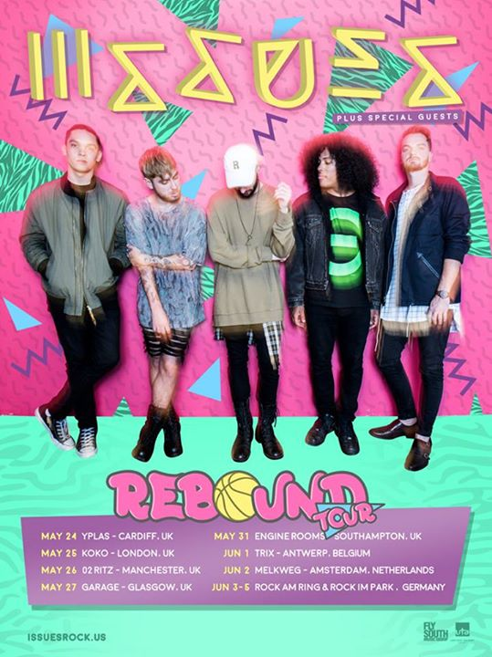 Issues - Rebound Tour - Poster
