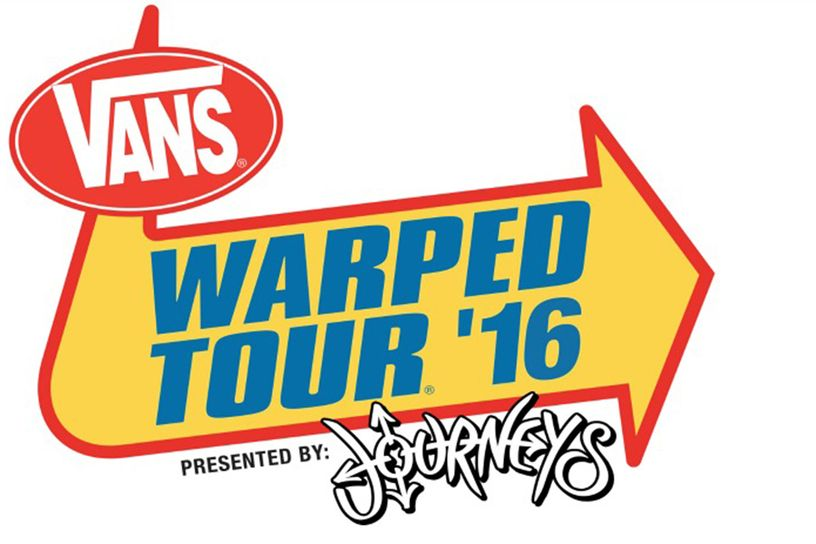 Vans Warped Tour Announces HUGE Lineup for 2016   Falling In Reverse, Sum 41, Good Charlotte + More