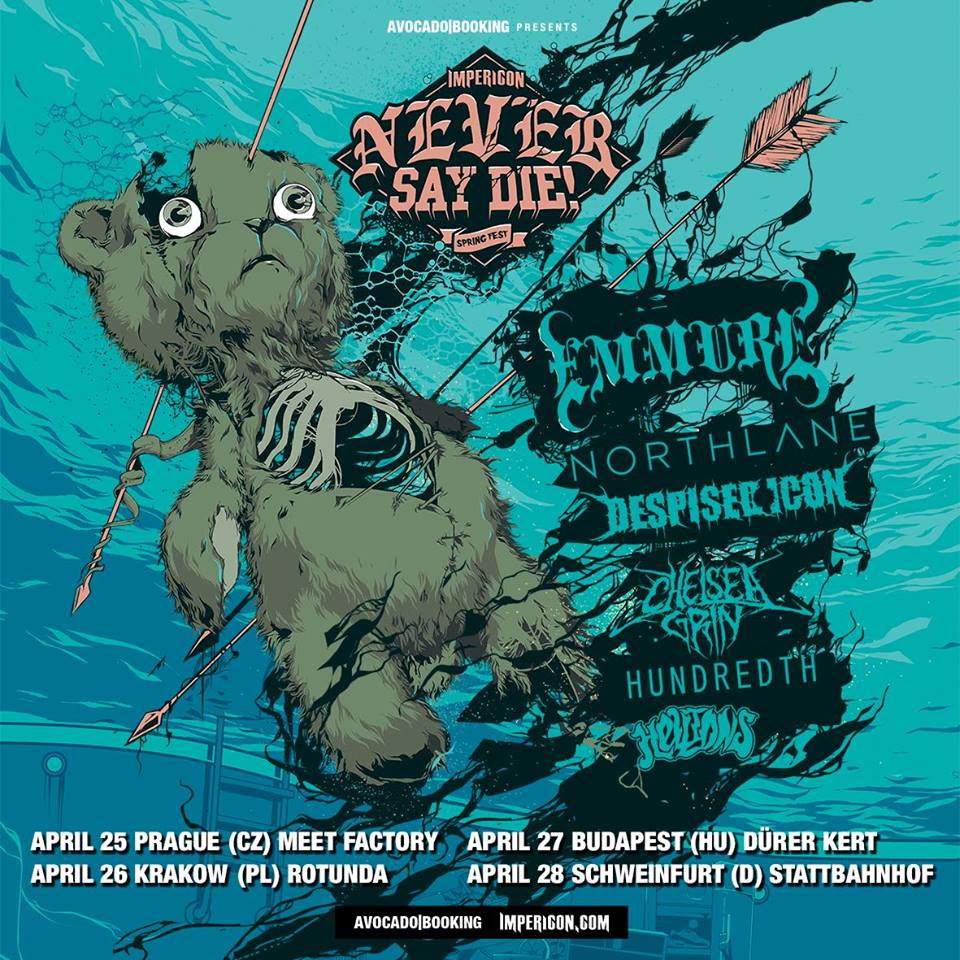 Emmure-Never Say Die 2016-tour