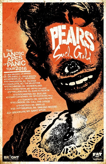 Pears- Co-Headline North American Tour- poster