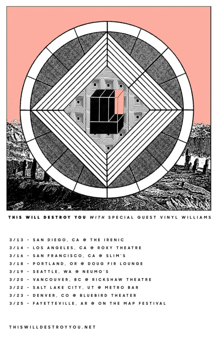 This Will Destroy You - Spring North American Tour - poster