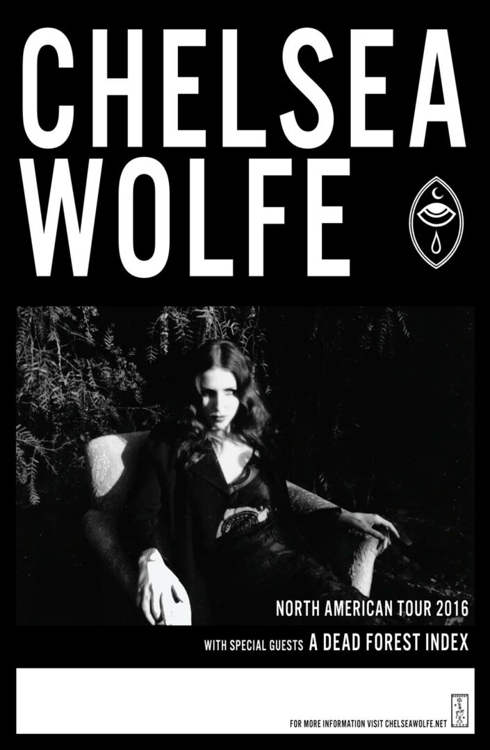 Chelsea Wolfe - 2016 North American Tour - 2016 Tour Poster