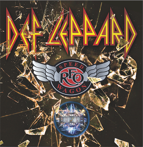 Def Leppard - North American Tour - poster