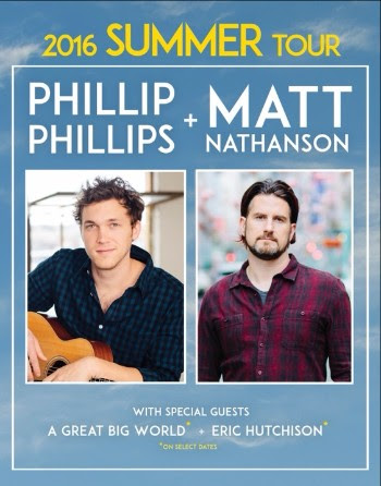 Phillip Phillips - Co-Headline Tour - poster
