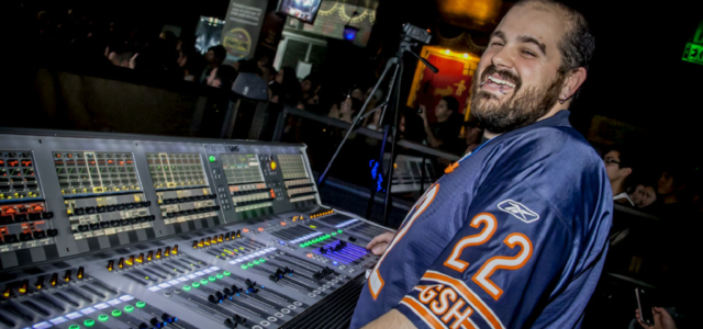 Gino Scarim (The Amity Affliction's Tour Manager/Front of House Engineer) – TRICKS OF THE TRADE