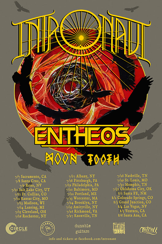 Intronaut - U.S. Summer Tour - poster