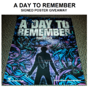 A Day To Remember Signed Poster – Giveaway
