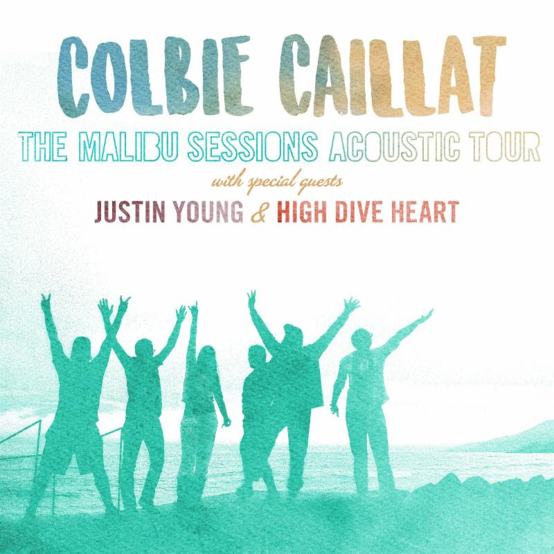 Colbie Caillat - The Malibu Sessions Acoustic Tour - poster