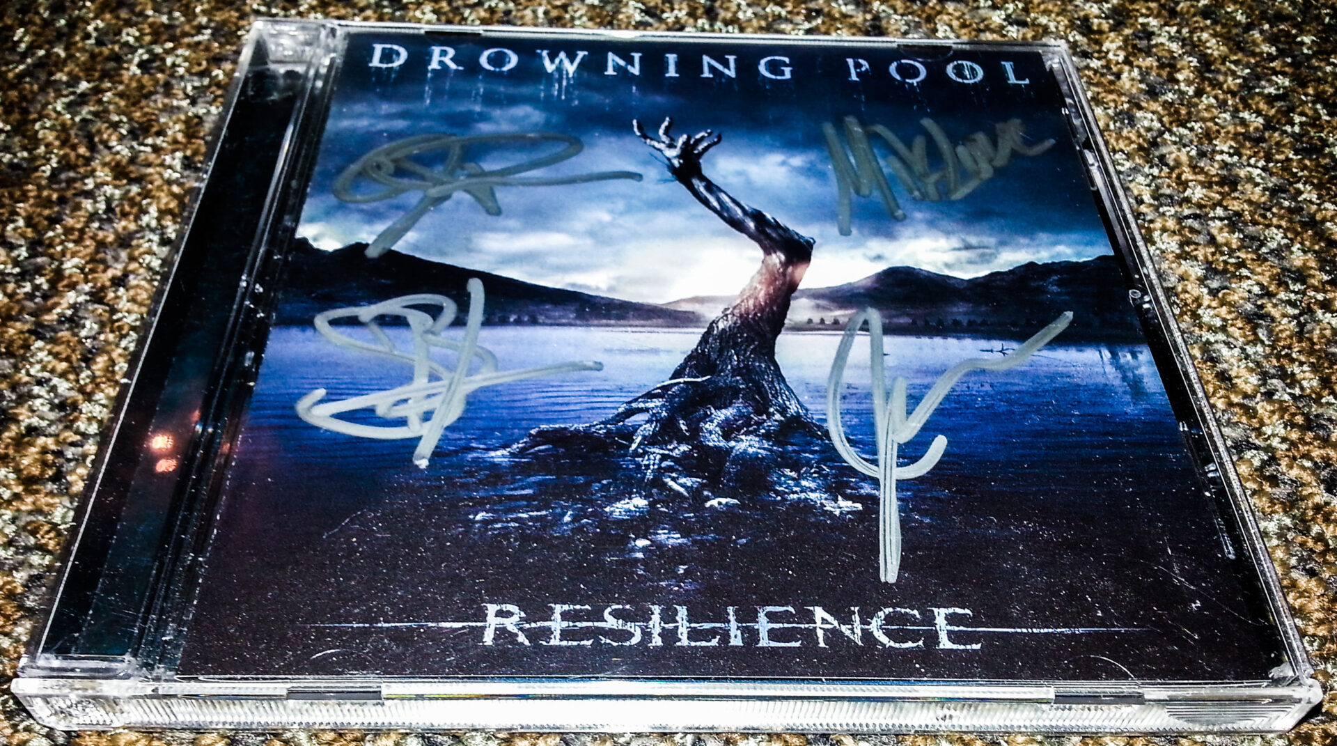 Drowning Pool Signed CD - Contest