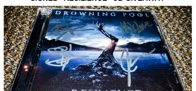 "Drowning Pool Signed ""Resilience"" CD – Giveaway"