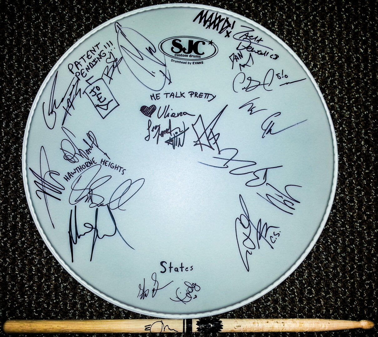 Other Bands Drum Head - Contest