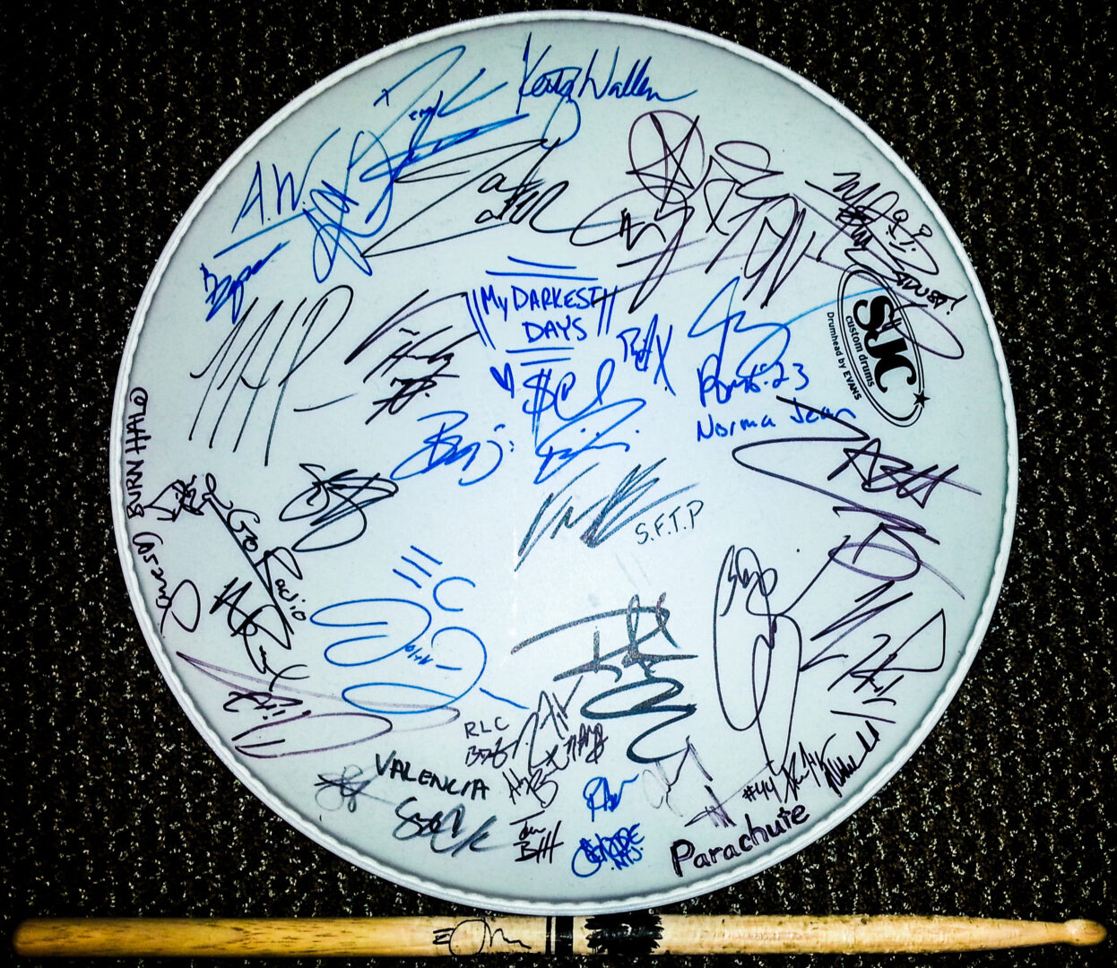 Rock Band Drum Head - Contest