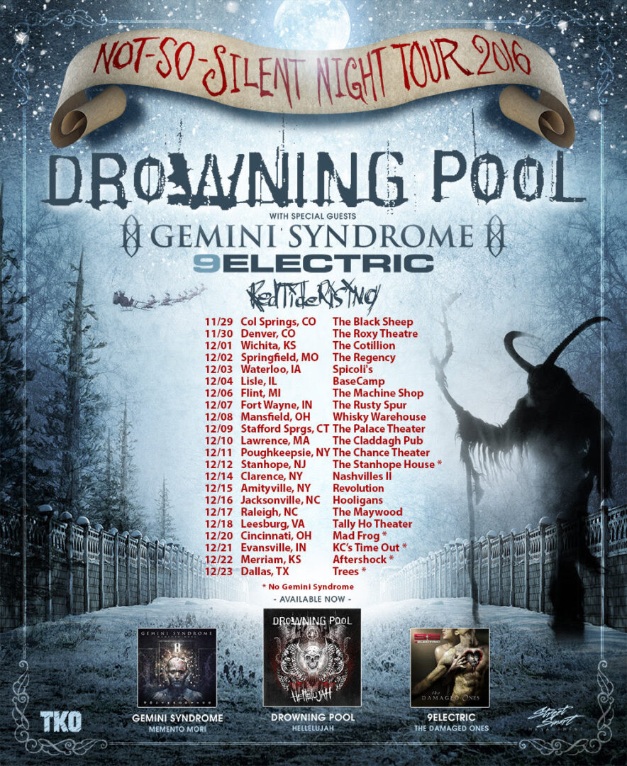 drowning-pool-u-s-not-so-silent-night-tour-2016-tour-poster