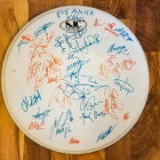 Warped Tour 2016 Signed Drumhead Giveaway