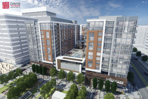 Rendering of 17W in Denver's Union Station neighborhood. Image courtesy Davis Partnership Architects.
