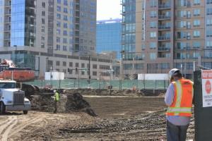17W under construction. Denver Urban Review