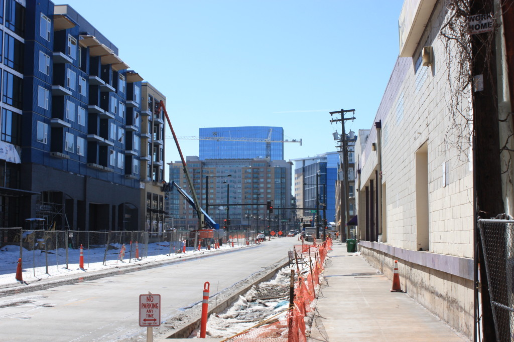 Denver's Union Station neighborhood March 2015.