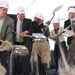 Union Tower West breaks ground