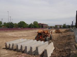 Construction begins at 2300 Welton