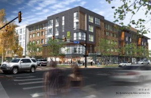 Rendering of Embassy Suites Boulder. Image courtesy Sage Hospitality.