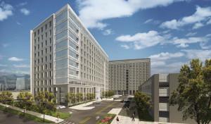 Rendering of Village Center DTC courtesy Granite Properties,