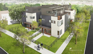 Rendering of Alloy on Lawrence courtesy Craine Architecture.