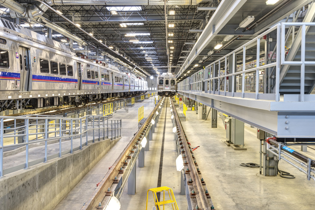 Commuter rail maintenance facility. Image courtesy RTD.