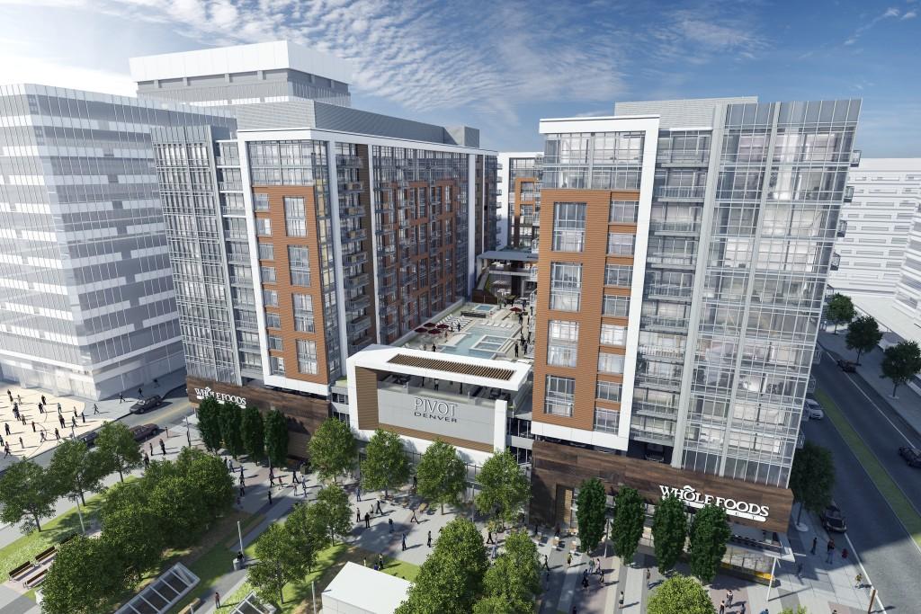 Rendering of Pivot Denver courtesy Holland Partner Group.