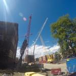 Excavator at 15th & California