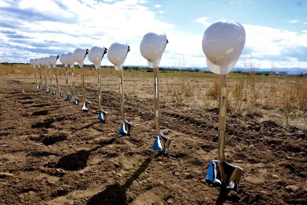 Denver ground breaking