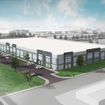 124,000 square-foot warehouse under construction