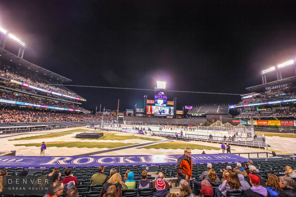 Hockey Coors Field