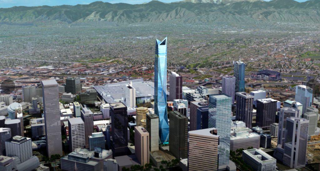 Denver Skyscraper rendering