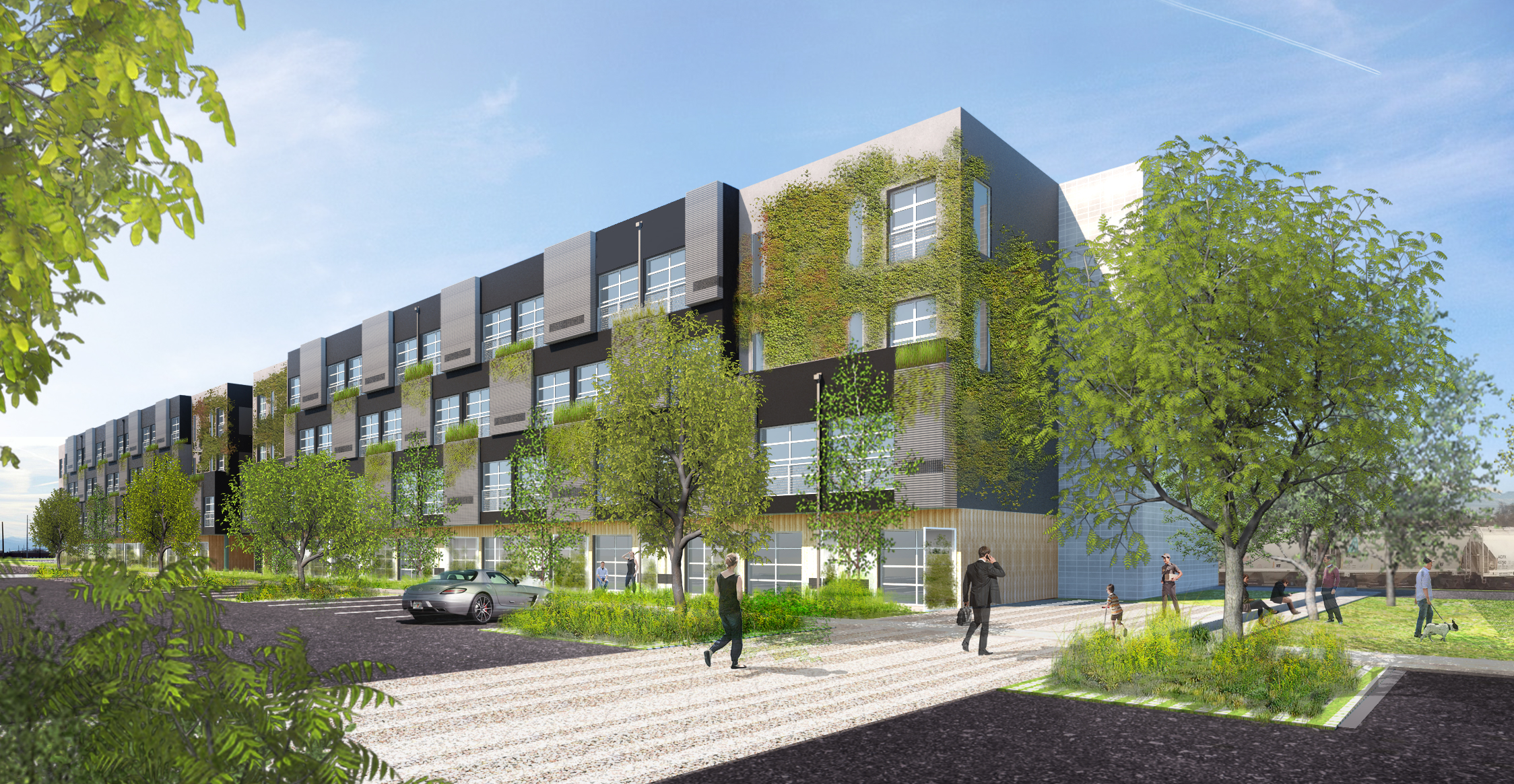 Zeppelin Development project breaks ground