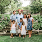 Dr. Mike Andreano and his family