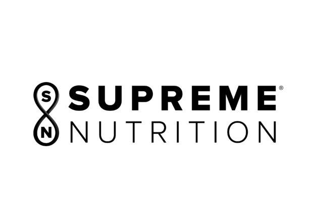 logo for nutritional company supreme nutrition