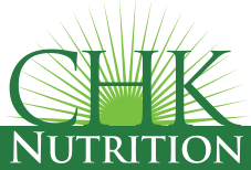 logo for nutritional company CHK nutrition