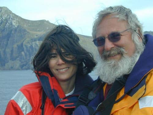 Amanda and Barry at Cape Horn