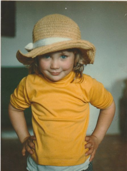 Noba Anderson, Current Strathcona Regional Director for Cortes Isalnd since 2008, at the age of 3.