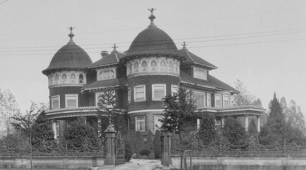 Imperial Palace of the Kanadian Knights of Ku Klux Klan, British Columbia headquarters, 1925, cropped