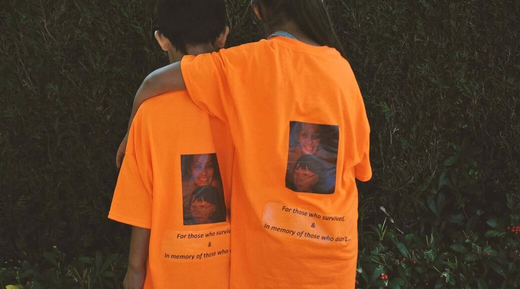 Students and teachers in many school districts were encouraged to wear orange shirts this week as a way to acknowledge the atrocities that happened in residential schools.