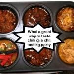 Chili Tasting Tray