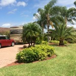 RV Pad Landscaping