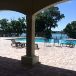 Swimming Pool Deck View