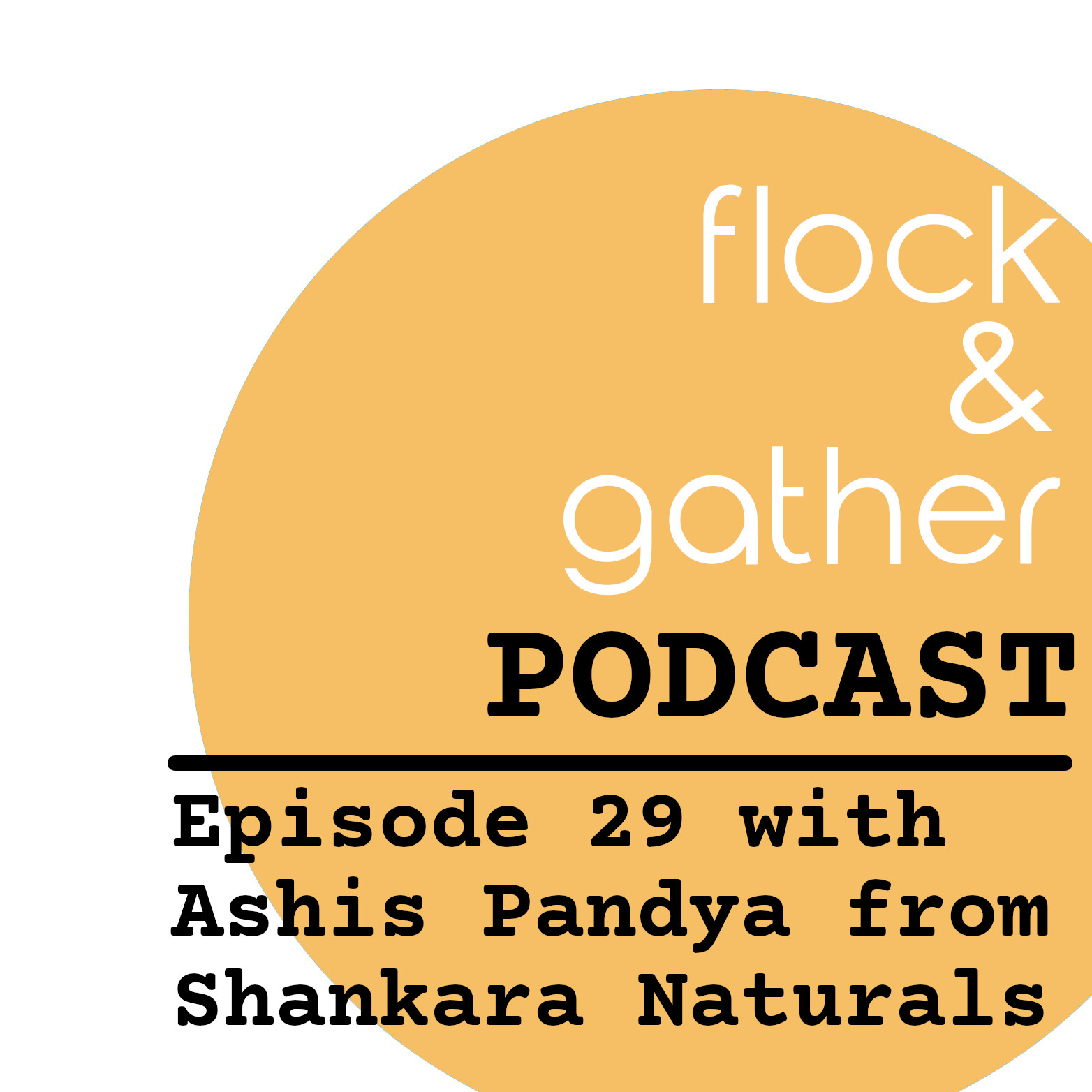 Flock and Gather...new episode with Ashis Pandya from Shankara Naturals!